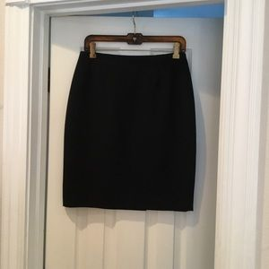 Basic Black Skirt - Petite
